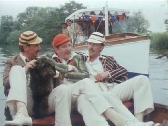 трейлер трое в лодке не считая собаки фильм