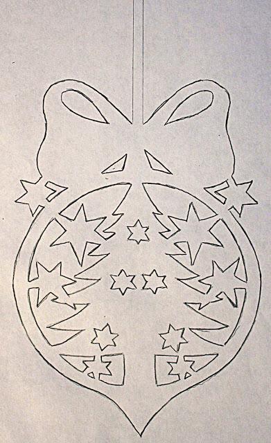 Из бумаги новогодние украшения на окна из бумаги своими руками шаблоны