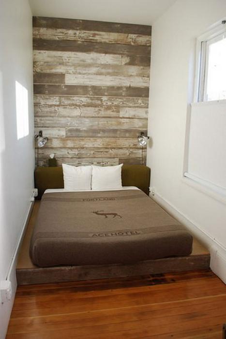 Дизайн очень маленькой комнаты фото