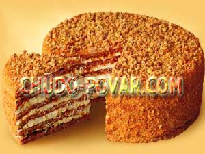 торт идеал медовый рецепт