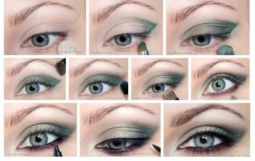 Как сделать мейкап для голубых глаз