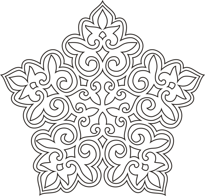 орнамент, орнаменты, казахский