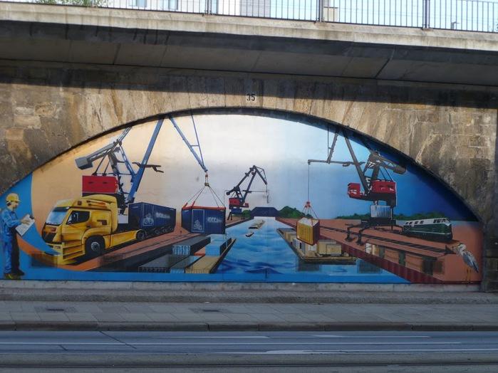 Граффити города Дрезден- часть 1. 20253