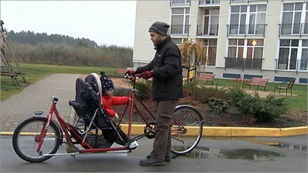 В Латвии живёт изобретатель необычных велосипедов