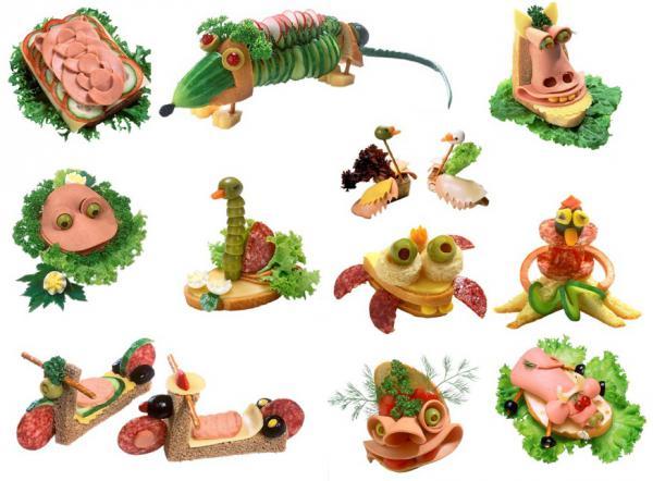 Поделки из продуктов питания своими руками съедобные