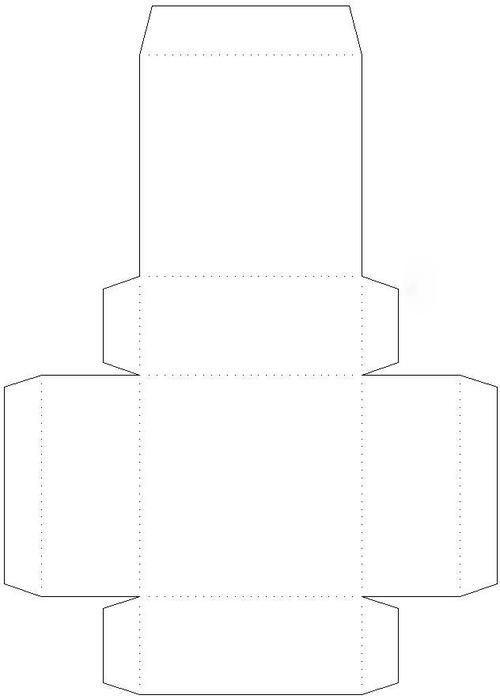 Большие коробки из картона своими руками схемы