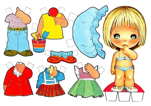 boneca de papel brinquedos para imprimir (610x427, 92Kb)