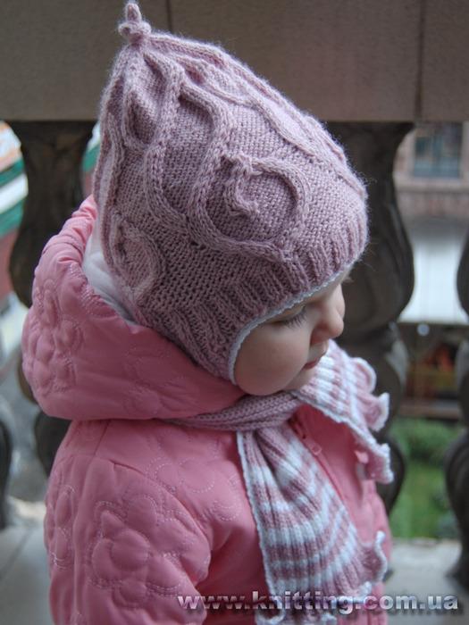 Связать шарф для девочки. Варежки, шарфы, перчатки и прочее - Модели
