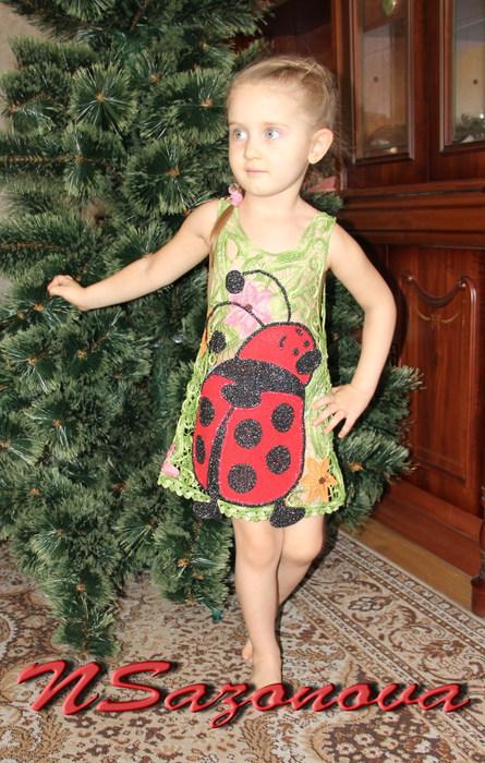 """Платье для юной леди """"Божья"""