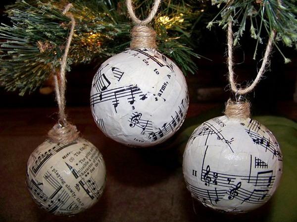 Новогодние музыкальные игрушки своими руками