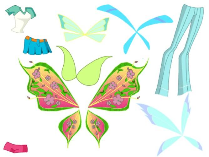 Как своими руками сделать крылья винкс
