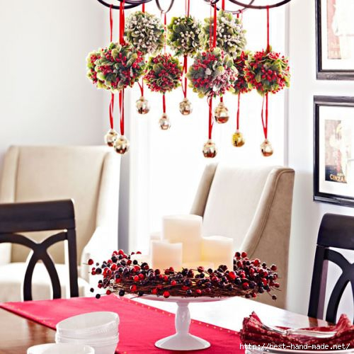 Dining room table decorations