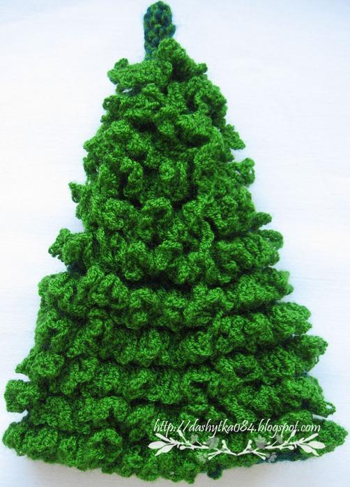 Новогодние открытки елка своими руками