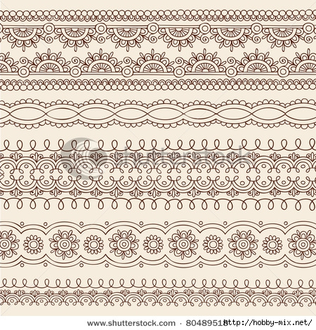 stock-vector-hand-drawn-henna-mehndi-tattoo-flower-and-paisley-border-doodle-vector-illustration-design-elements-80489518 (450x470, 285Kb)