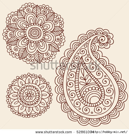 stock-vector-hand-drawn-henna-mehndi-tattoo-flowers-and-paisley-doodle-vector-illustration-design-elements-52861094 (450x470, 214Kb)