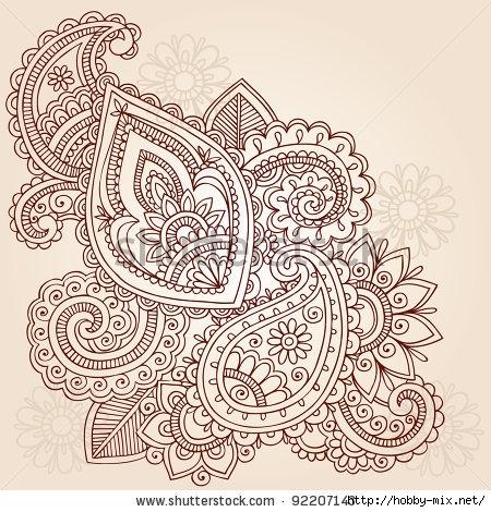 stock-vector-henna-mehndi-doodles-abstract-floral-paisley-vector-illustration-design-element-92207143 (450x470, 226Kb)