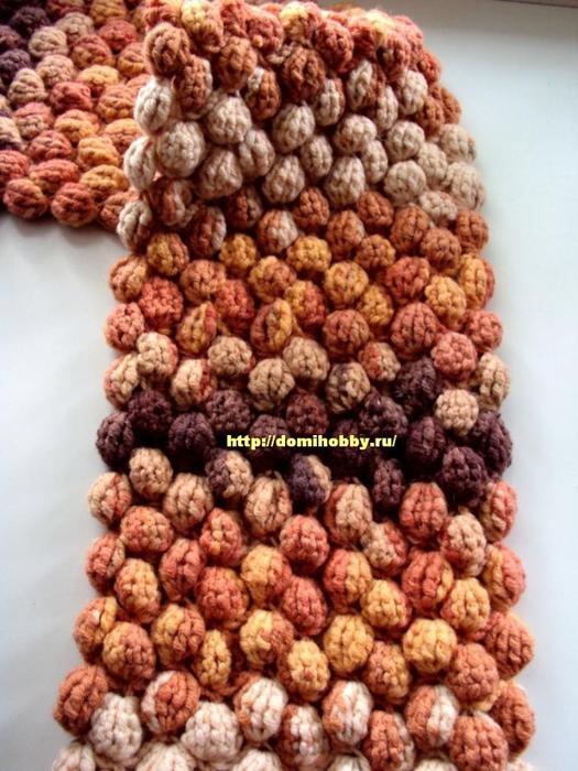 шарф-крючком-из-шишечек (525x700, 299Kb)