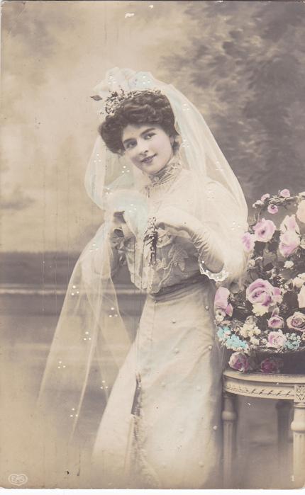 прически невест 19 века фото