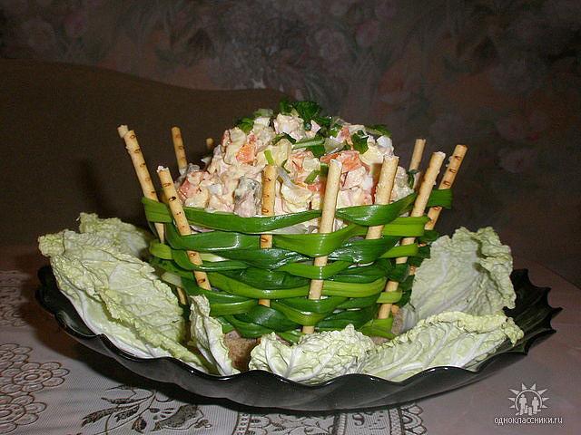 Оригинальные рецепты салатов с фото на новый год