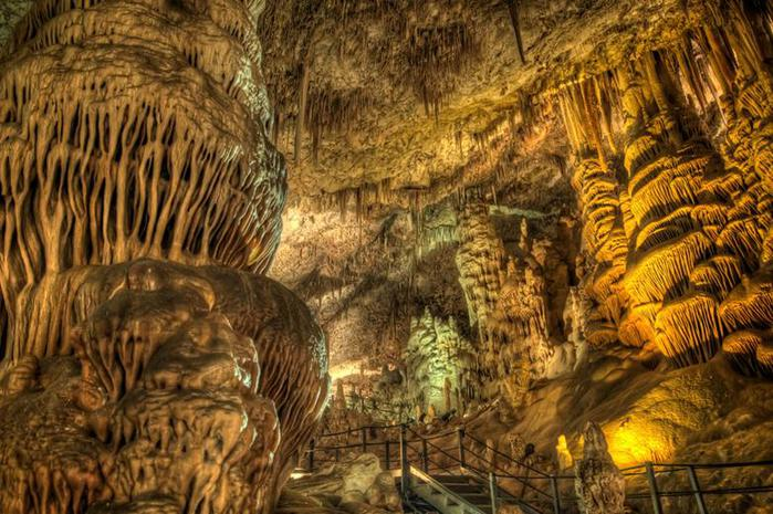 Сталактитовая пещера Сорек (заповедник в Израиле) Фотографии