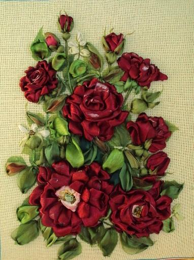 Тютелька тютельку вышивка розы