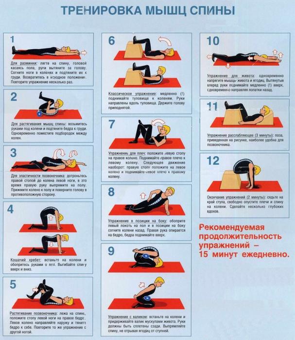 Укрепление мышечного корсета спины 12