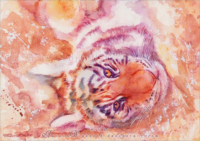 кошки в картинах Aurora Wienhold 10 (680x482, 123Kb)