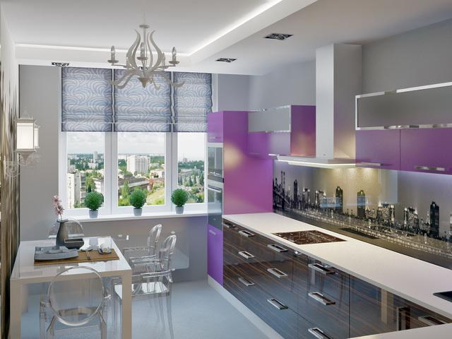 Дизайн кухни 18 м2
