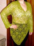 Превью Зеленый блузон (523x700, 66Kb)