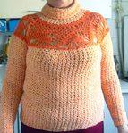 Превью Пуловер с круглой кокеткой (670x700, 128Kb)