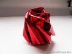Превью новогодние поделки роза из бумаги (450x338, 64Kb)