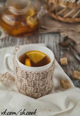 Горячий чайный грог с лимоном и апельсином (276x400, 40Kb)