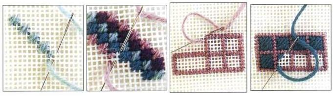 Вышивка на канве онлайн