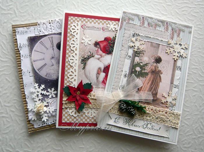 Винтажные открытки своими руками фото