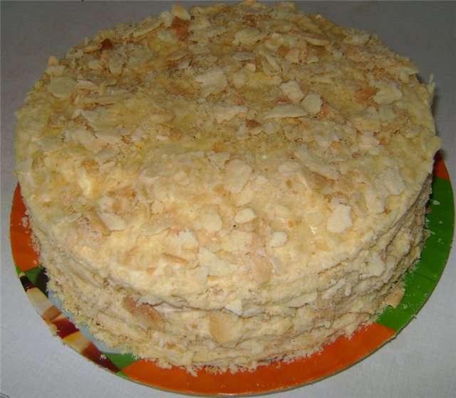 Наполеон торт своими руками в домашних условиях 7