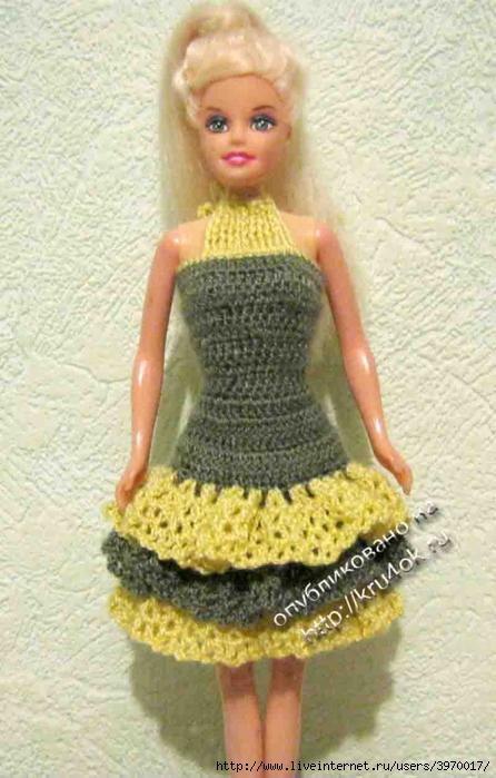 Вязание для кукол схемы