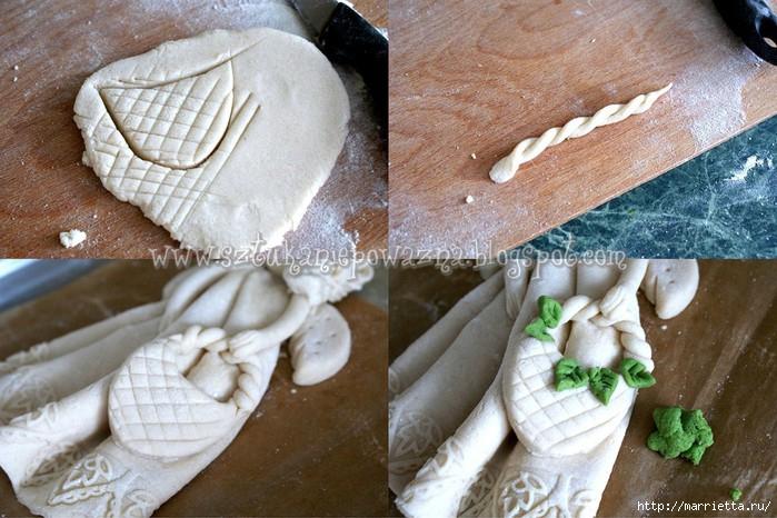 sztuka niepoważna masasolna kurs krok po kroku wielkanoc jak zrobic anioła aniołka DIY tutorial ozdoby na wielkanoc jak zrobić masę solną rękodzieło polskie salt dough.jpg (5) (700x466, 232Kb)