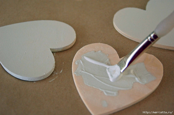 Сердечки-подвески ко дню Св. Валентина.  Самый романтичный праздник в году не за горами и в честь дня Святого...