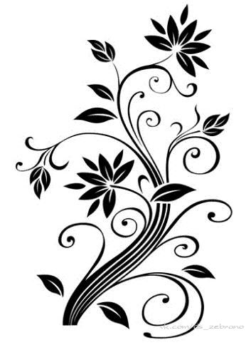 Simple flower background designs