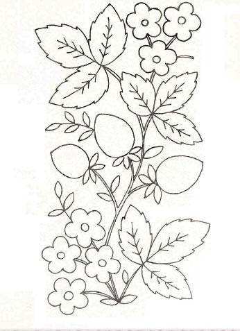 Рисунки ручкой о цветах
