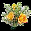 Желтые розы - 150 соний