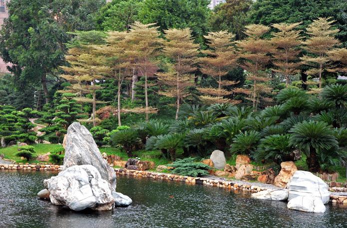 Сад Нан Лиан, Гонконг. (695x457, 206Kb)