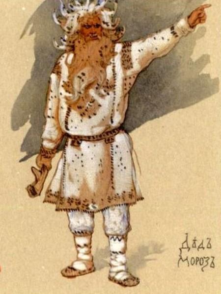 Васнецов. Дед Мороз с палицей (450x600, 66Kb)