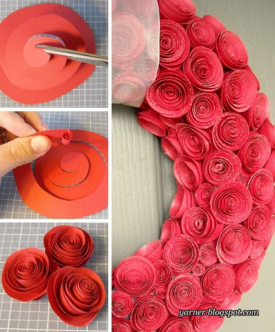 Цветы для дома своими руками из бумаги