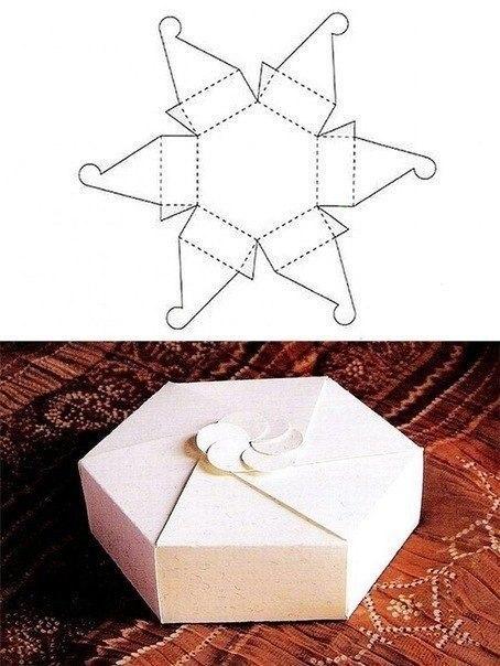 Коробочки для подарков своими руками.  6.
