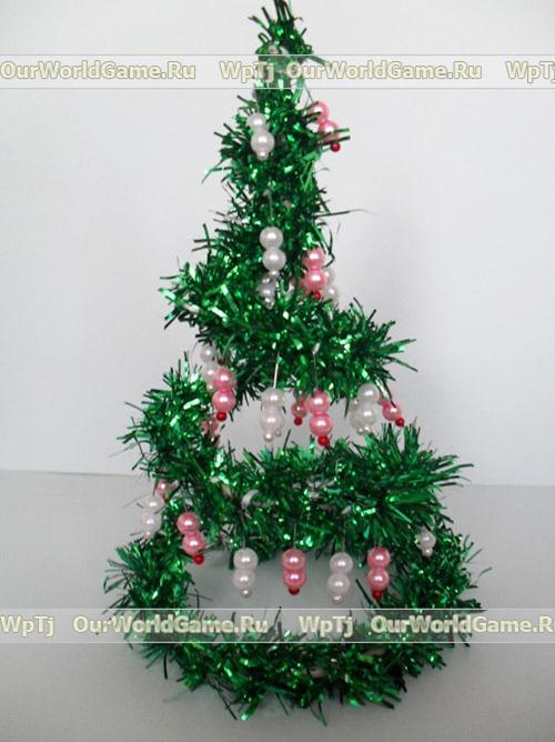 Новогодние поделки, новогодняя елочка, сделанная своими руками.