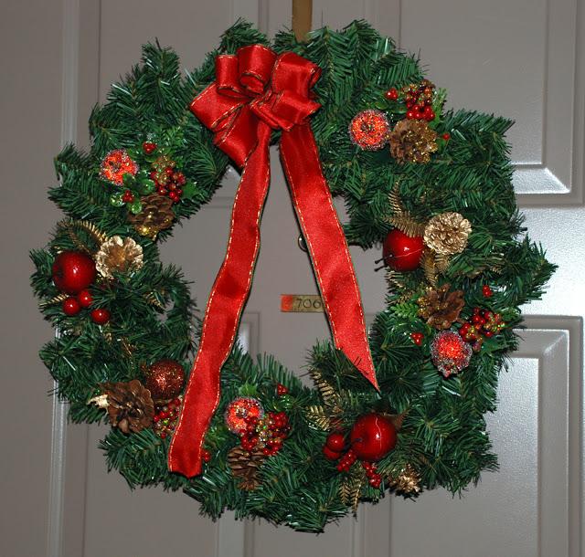 Рождественский венок 52350