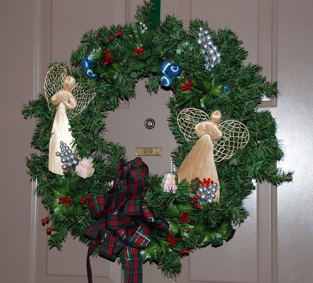 Рождественский венок 38697