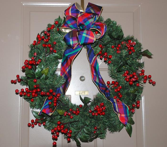 Рождественский венок 33092