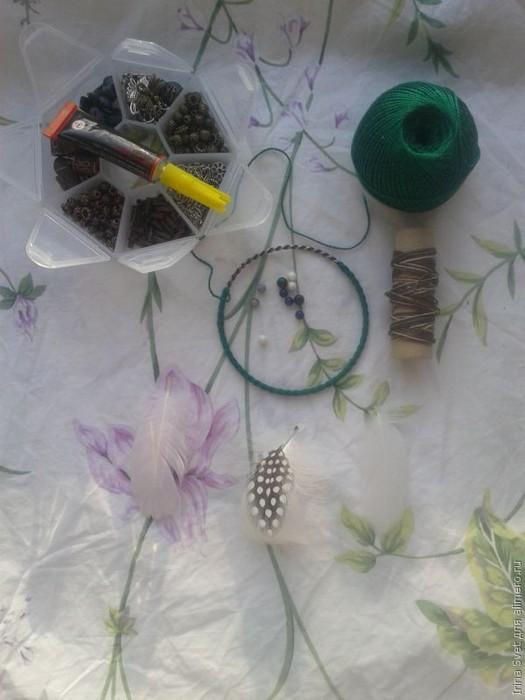 Плетём браслет оберег